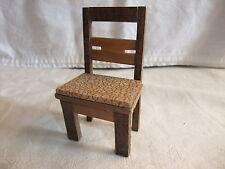 b Puppenstube Kaufmannsladen Möbel Herrenzimmer Küche Stube Stuhl Küchenstuhl