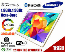 "Samsung Galaxy Tab S SM-T800 10.5"" WiFi 16GB White SM-T800NZWEXSA Cheapest!"
