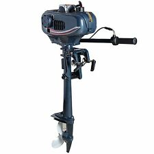 3.5 hp 2 Stroke Outboard Sail Boat motor Tiller Yacht Engines
