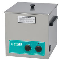 "NEW CREST CP500HT 1.5 Gal Ultrasonic Cleaner, Heat+Timer+Cover 11.75"" x 6"" x 6"""