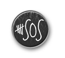 """5SOS / 1"""" / 25mm pin button / badge / band / Australian / 5 Seconds of Summer"""