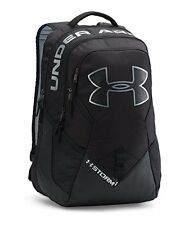 NEW Under Armour Unisex Storm Big Logo IV Backpack - Black - One Size