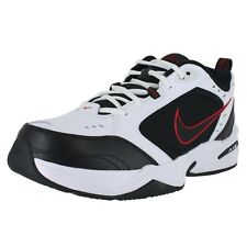 Nike Air Monarch IV 4E Extra Wide 416355-101 White Black Mens US size 15, UK 14