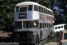 CIE Leyland under restoration Drogheda 1983 Irish Bus Photo