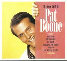 THE VERY BEST OF PAT BOONE - 2 CD BOX SET - LOVE LETTERS IN THE SAND & MORE