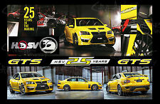 Holden HSV GTS Commodore 25 year anniversary wall art poster A3 man cave