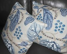William Yeoward for Designers Guild Throw pillows printed fabric ASTASIA new TWO