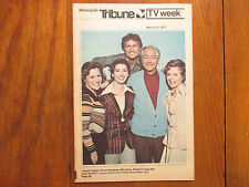 May-1977 Minneapolis Tribune TV Mag(FATHER  KNOWS  BEST/LAUREN CHAPIN/BILLY GRAY