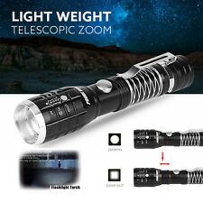 CREE XML Q5 LED 14500 Flashlight Torch Lamp Zoomable Focus flashlight hotsale