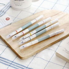 HIMORI iConic 2 Way Retro Pen - Set of 5 Color Pens - Fine / Thick Dual Nibs
