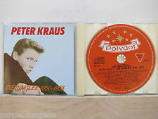PETER KRAUS - Die Singles 1956-58  CD  BEAR FAMILY BCD 15405/831-809-2