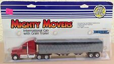 ERTL International Truck Grain Trailer semi 1187 Mighty Movers vintage 1/64 NEW