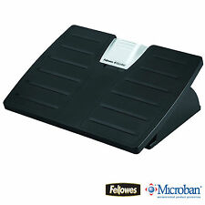 FELLOWES ERGONOMIC MICROBAN ANTI-BACTERIAL PROTECTION FOOT REST OFFICE / DESK