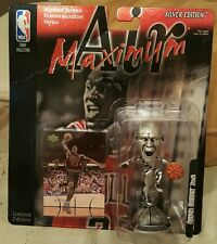 New! Mattel Michael Jordan figure Air Maximum Silver Edition Figure NIP 1999