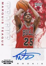 2012-13 PANINI CONTENDERS BASKETBALL MARQUIS TEAGUE AUTOGRAPH RC