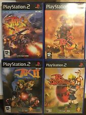 PLAYSTATION 2 PS2 GAMES JAK & DAXTER THE PRECURSOR LEGACY +JAK II RENEGADE +3 +X