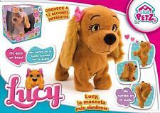Lucy Perrita Interactiva Juguete Educativo Te Hace Caso 12 Acciones Mascota Niña