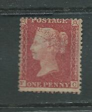 SG 37 unused 1857 penny red brown Die Type I OG HR