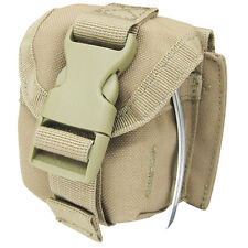 NEW CONDOR MA15: Tactical MOLLE Single Frag Grenade Pouch Holster MA15-003 Tan