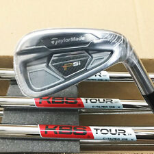 TAYLORMADE 2016 PSi IRON SET 3-PW KBS TOUR C-TAPER 105 STEEL X-STIFF RH 17446