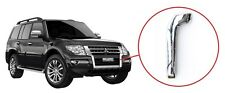 Mitsubishi Pajero Montero Shogun 2015-2016 SUV Chrome Strip On Front Bumper Left