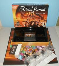 NEW Trivial Pursuit SNL Saturday Night Live DVD Edition Board Game w/ Land Shark
