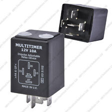 12V 10A Adjustable Timer Relay - Delay On/Off - Universal Automotive & Marine