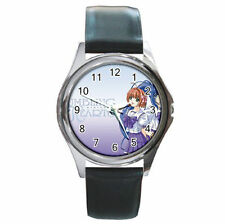 Anime Girls Rumbling Hearts anime leather watch