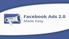 FaceBook Ads Made Easy- 26 Videos on 1 CD