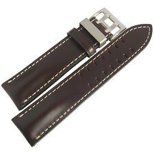 20mm Di-Modell Offroad Mens Brown Leather Pilot German Made Watch Band Strap