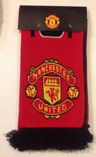 Manchester United FC Knitted Second Half Jacquard Scarf Officially Licensed