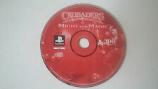 CRUSADERS OF MIGHT AND MAGIC - SONY PLAYSTATION PS1 - GERMAN DEUTSCH VERSION