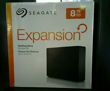 NEW Seagate Expansion 8TB Desktop External Hard Drive USB 3.0 (STEB8000100)