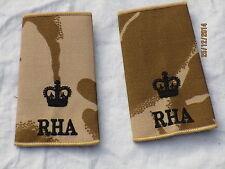 Distintivo di grado: Major,RHA, Royal Cavallo Artiglieria,Desert, Coppia
