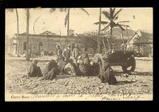 West Africa France Congo CARRO BOER building construction 1909 u/b PPC