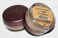 2 pcs Escentuals LIGHT SPF 15 Mineral Foundation Makeup 2g Travel Size Sealed