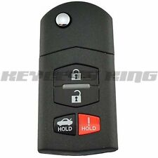 New Flip Key Keyless Entry Remote Fob Transmitter Replacement For SKE12501 Uncut