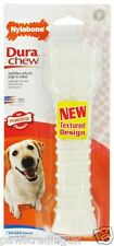 CHICKEN NYLABONE NYLER BONE SOUPER / SUPER SIZE TOUGH  DOG TOY STRONG CHEWER