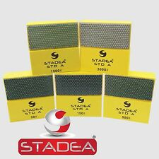 STADEA Diamond Hand Polishing Pads Set For Granite Concrete Marble Glass Polish