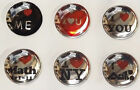 6 X Home Button Sticker For Apple iPhone 6 5 5c 5s 4 4S 3 3GS iPad iPod Touch