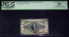 FR.1253 SP NMF (3rd Issue) 10 cent AUTOGRAPHED  SPECIMEN (PCGS - CH.AU 58)