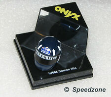 ONYX 1/12 Scale Damon Hill Helmet NEW HF006 Formula One F1