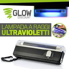LAMPADA UV timbri discoteca fluo inchiostro invisibile raggi ultravioletti 70163