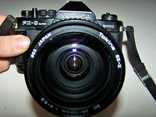 Yashica  KYOCERA FX-3 super 2000 Camera + Tokina SZ-X SD 28-105mm 1:4-5.3 LENS