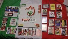 Album Euro 2008 panini con SET COMPLETO anche di P1 P20 E AGGIORNAMENTO ITALIA +