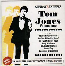 (FI518) Tom Jones, Volume 1 + 2, 30 tracks - 2006 Sunday Express CD