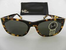 New Vintage B&L Ray Ban Wayfarer Set Bohemian Dark Tortoise W1415 Sunglasses USA