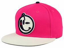 New Authentic New Era Yums Bands Snapback Hat Cap Pink White 9Fifty Adjustable