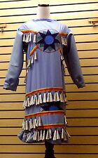 NICE HOMEMADE RIBBONWORK DESIGN OLD ROLLED SNUFF LID JINGLE DRESS