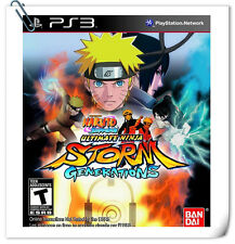 PS3 Naruto Shippuden: Ultimate Ninja Storm Generations JAP Fighting Games Namco